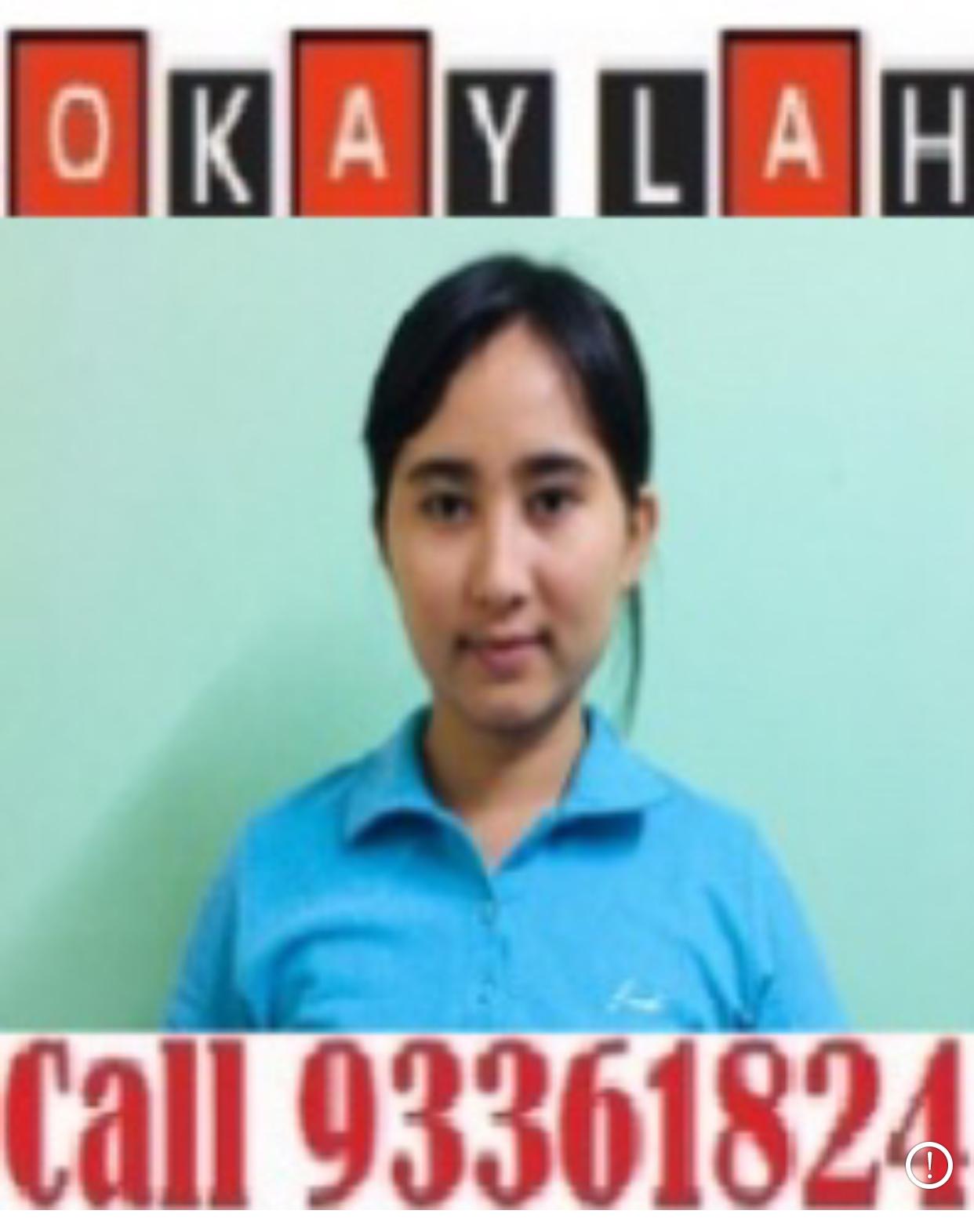 Myanmar Experienced Maid - NYEIN NYEIN EI