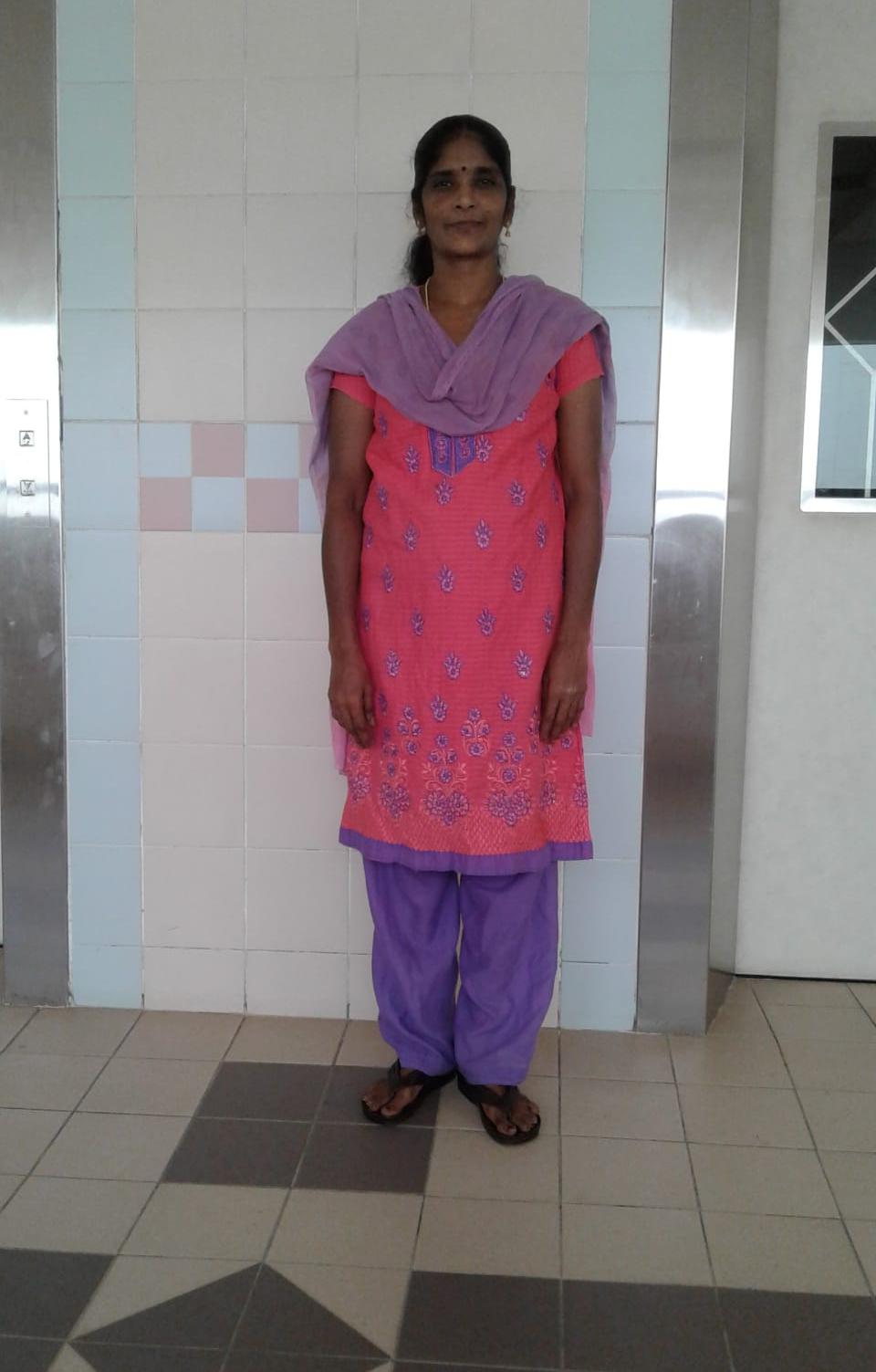 Indian-Experienced Maid-MEENA PANNEERSELVAM