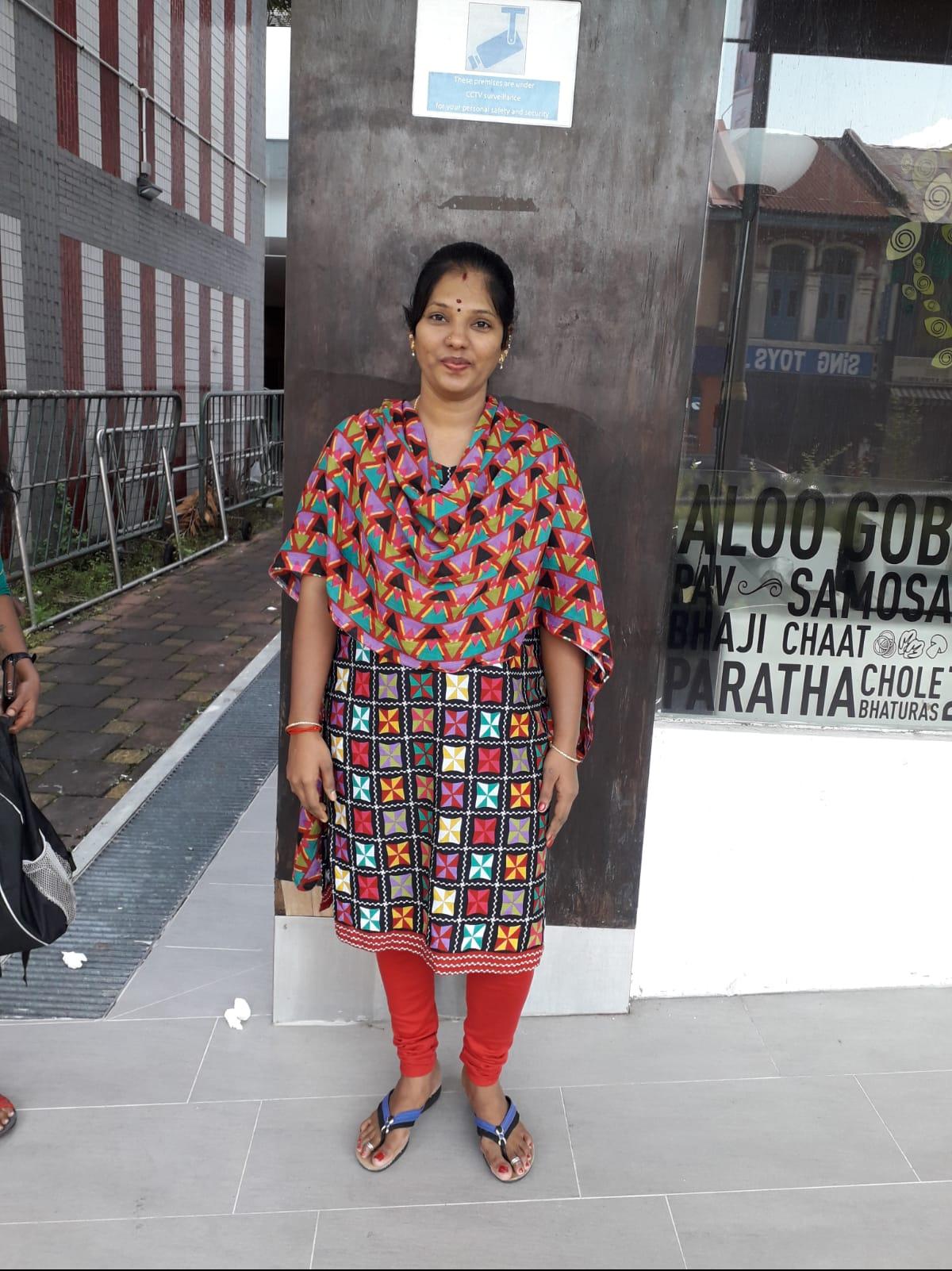 Indian-Experienced Maid-SELVI ESWARAN