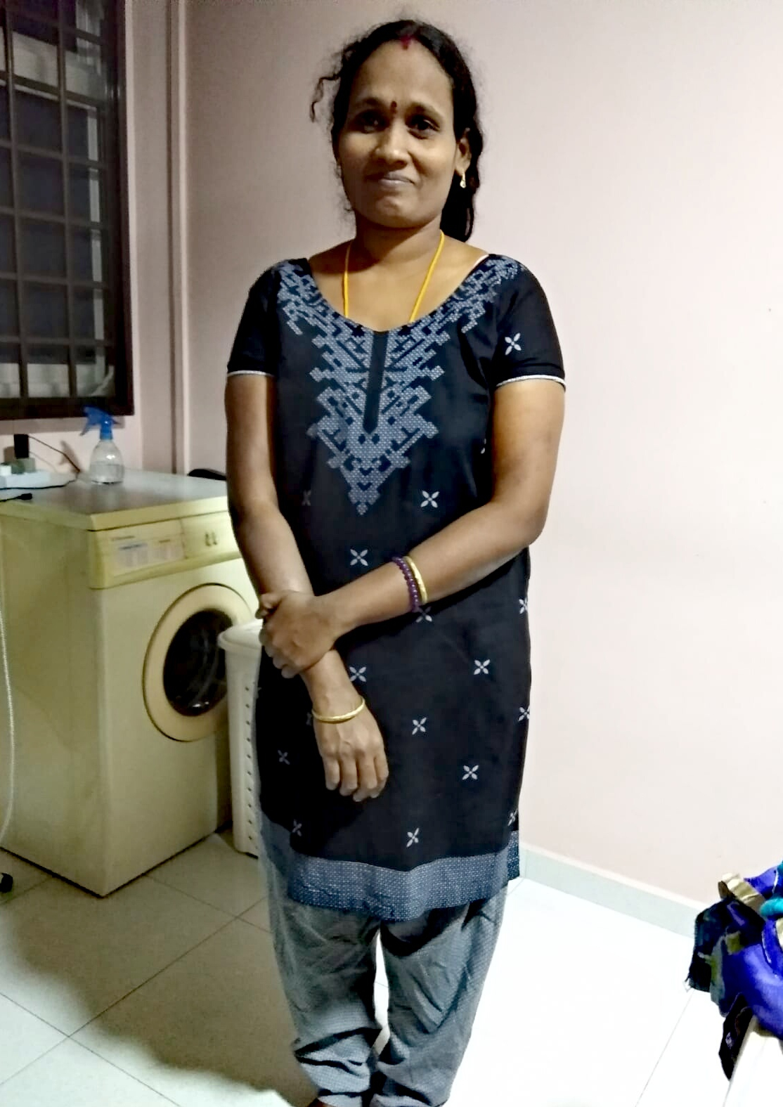Indian-Experienced Maid-MANJULA BHARATHIRAJA