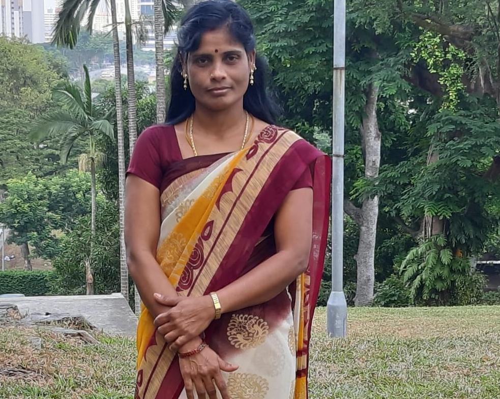 Indian-Ex-Singapore Maid- KATHIRVEL SAGUNTHALA