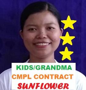 Myanmar-Ex-Singapore Maid-TIN TIN MAR (EX- SIN MAID, CARE OF BABY / KID / ELDERLY / BEDRIDDEN)