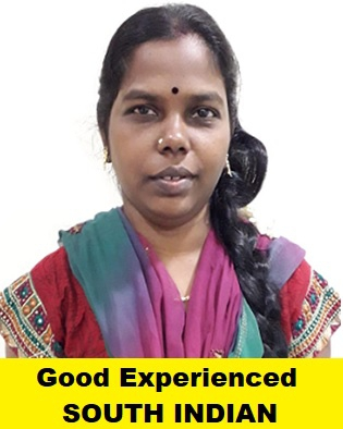 Indian-Experienced Maid-CHITHRA
