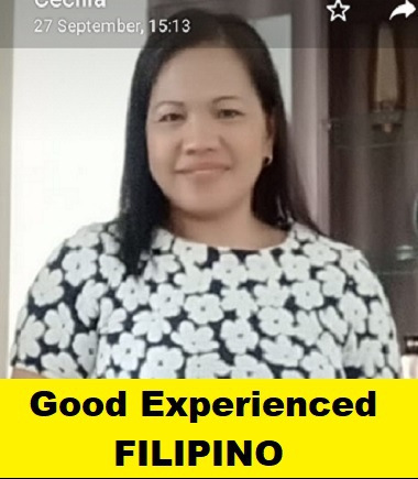 Filipino-Experienced Maid-CECILIA SARAD
