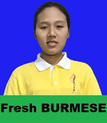 Myanmar-Fresh Maid-HLA SAN HTAY
