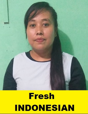 Indonesian-Fresh Maid-EFRIDA HARAHAP