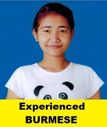 Myanmar-Experienced Maid-HMA NGAIHI