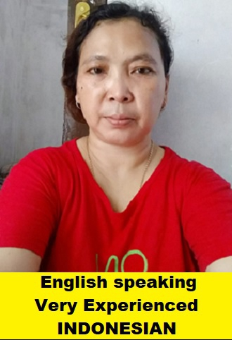 Indonesian-Experienced Maid-CICAH AISAH