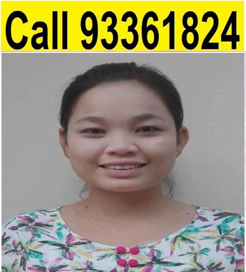 Myanmar-Experienced Maid-EI ZAR