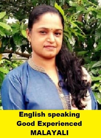 Indian-Experienced Maid-SMITHA NADESAN