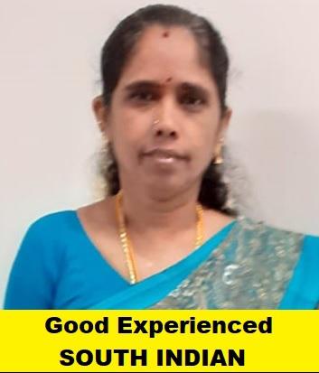 Indian-Experienced Maid-MATHIYARASI