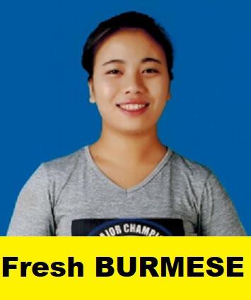 Myanmar-Fresh Maid-SAM HLIANG SUNG