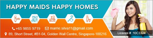 HAPPY MAIDS HAPPY HOMES PTE. LTD.
